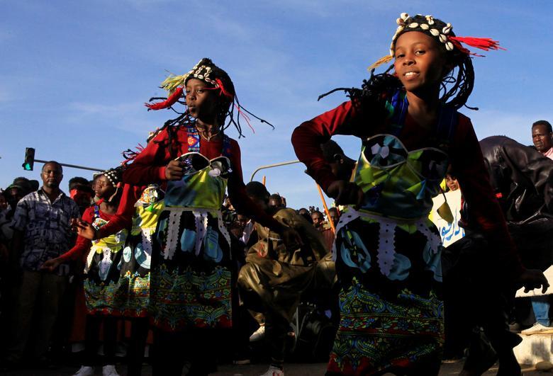 Члены традиционной суданской группы