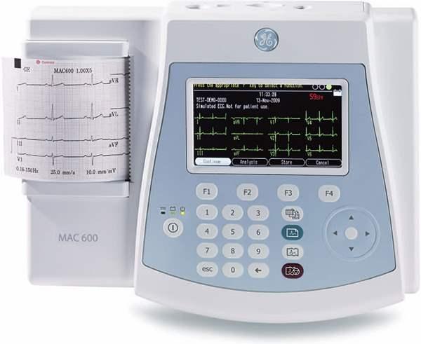 Электрокардиограф GE MAC 600, интернет-магазин MedHealthCare.