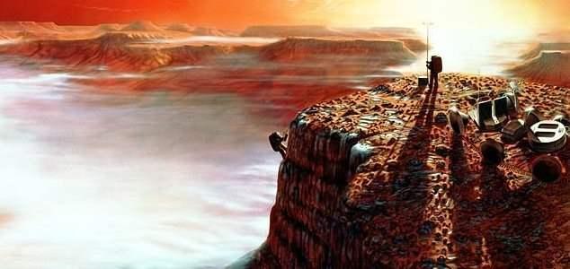 высадка на Марсе