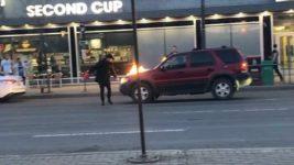 канада авто поджог