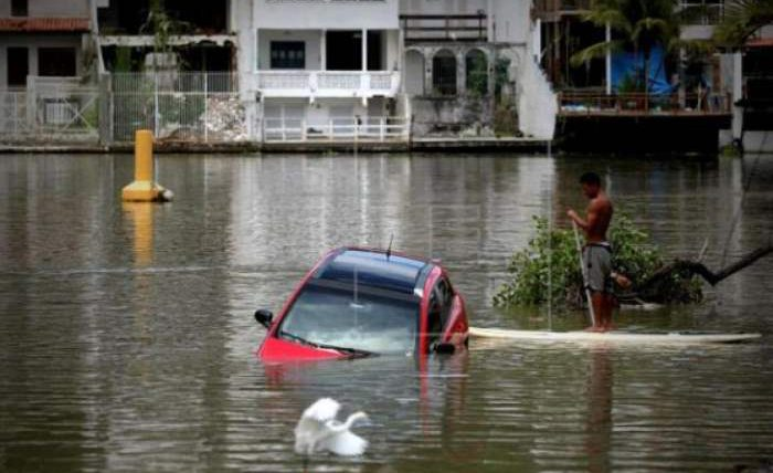 наводнение рио