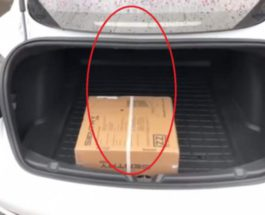 тесла багажник