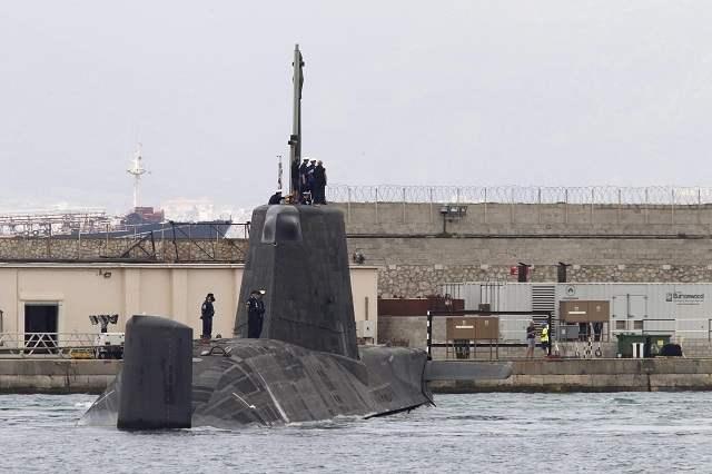 ядерная тревога на подлодке