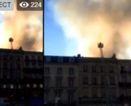 Бордо пожар