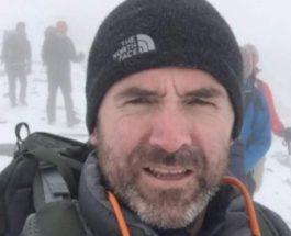 Британский альпинист погиб
