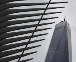 Всемирный торговый центр в Нью-Йорке, США.