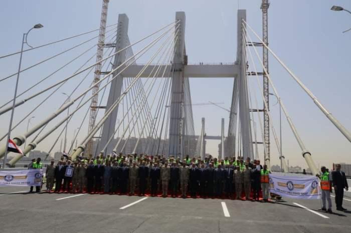 Египет подвесной мост