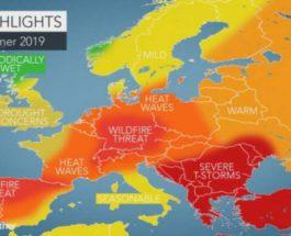 Жара Европа