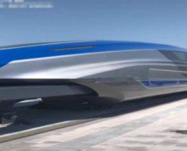 Китай новый поезд