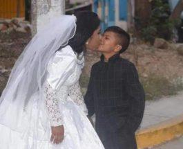 Необычная свадьба в Мексике