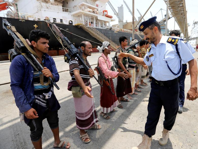 Офицер береговой охраны Йемена