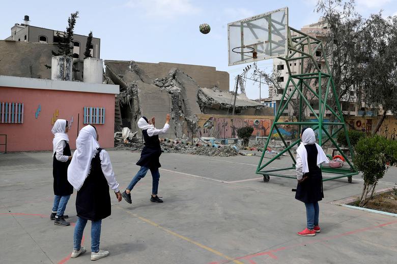 Палестинские студенты