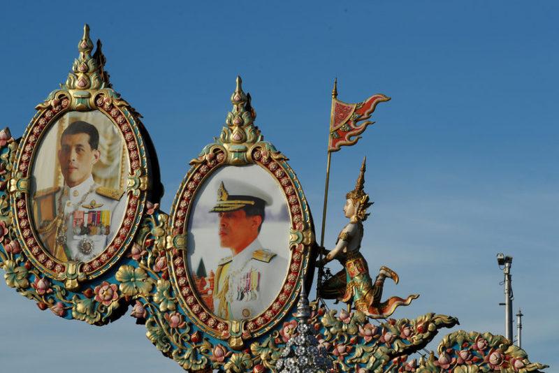 Портреты короля Маха Ваджиралонггорна