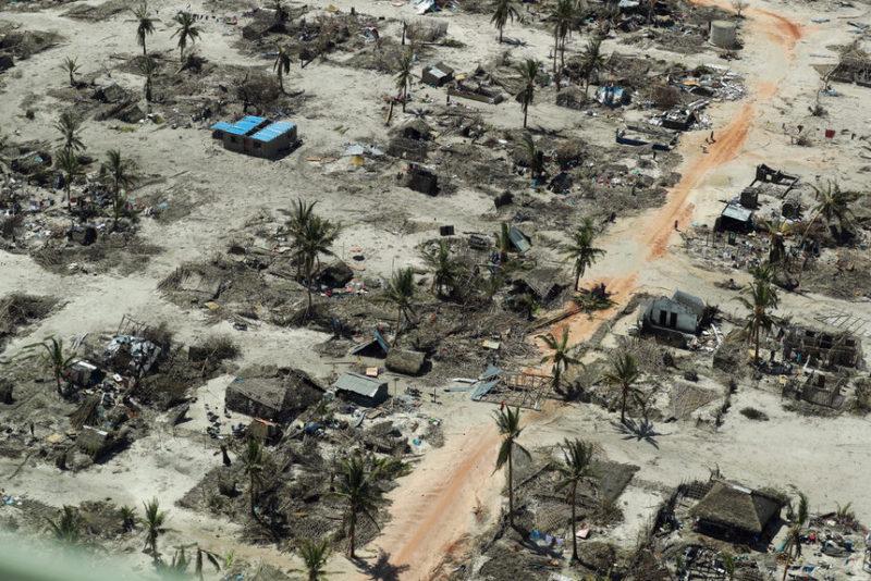 Последствия циклона Кеннет