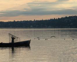 Рыбалка на озере Леманн