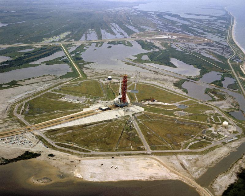 Стартовая площадка НАСА