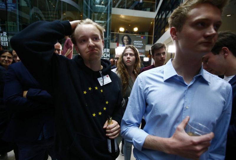 Сторонники немецких социал-демократов