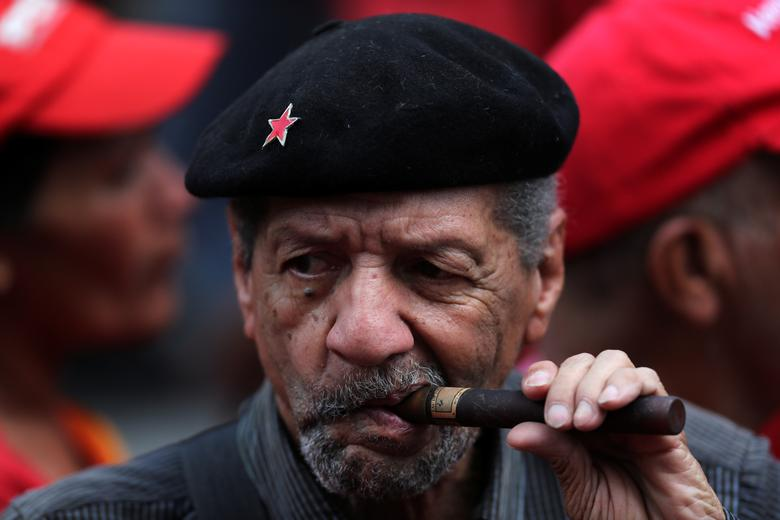 Сторонники президента Венесуэлы