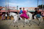 Традиционная ярмарка в Севилье