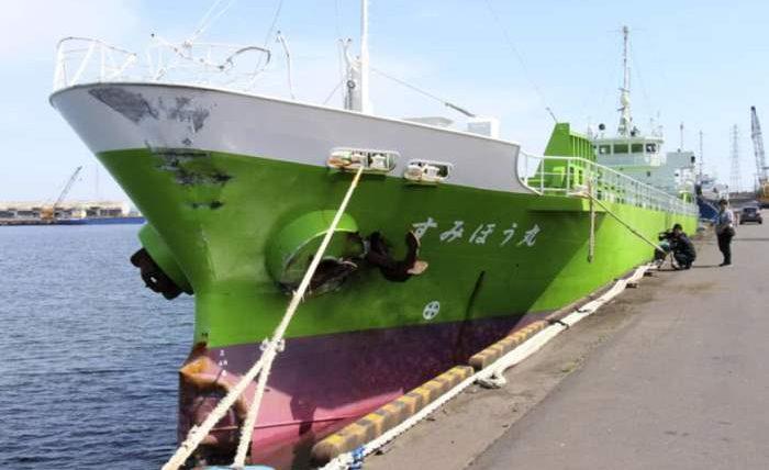 Япония судно