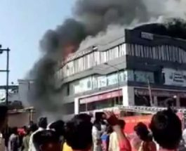 индия пожар