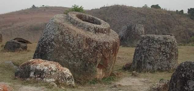 каменные бочки