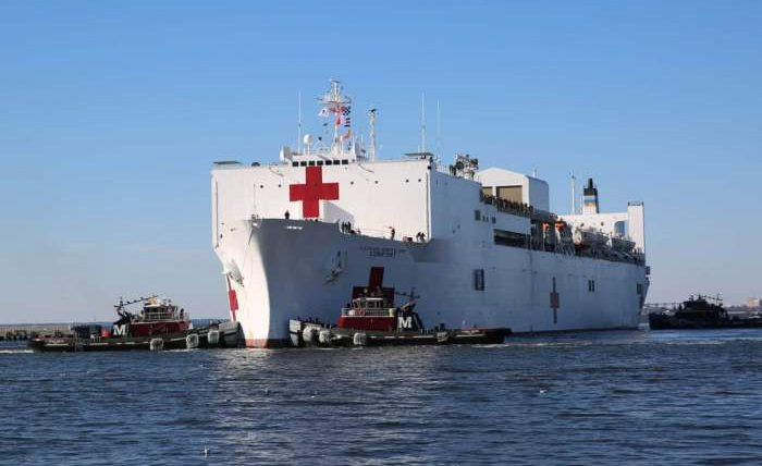 корабль-госпиталь ВМС США