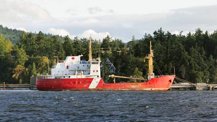 корабль канада