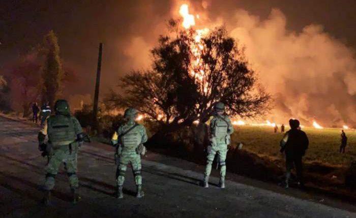мексика взрыв