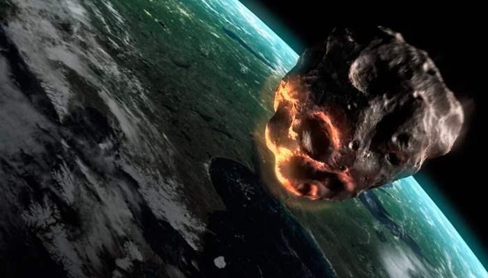 Астероид размером с грузовик