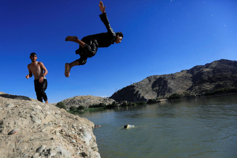 Афганские мальчики