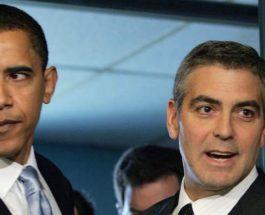 Барак Обама и Джордж Клуни