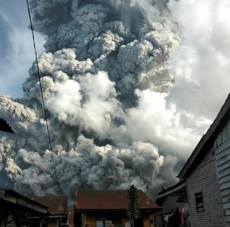Вулканическое облако