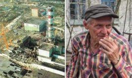 Житель Чернобыля