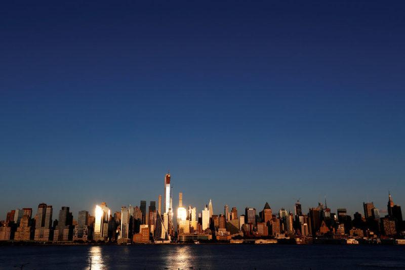 Закат над Манхэттене
