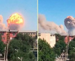 Казахстан взрывы