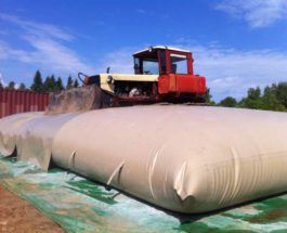 Полимерные эластичные резервуары