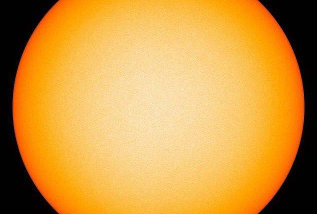 Солнце без пятен