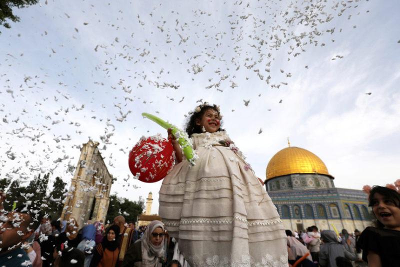 Торжества в Иерусалиме.