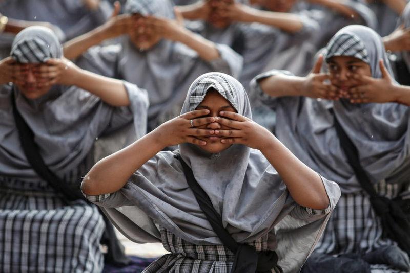 Урок мусульманской йоги