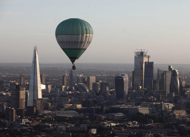 Фестиваль воздушных шаров в Лондоне