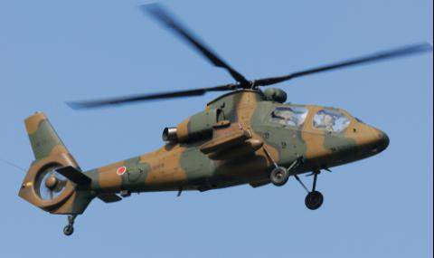 вертолет япония