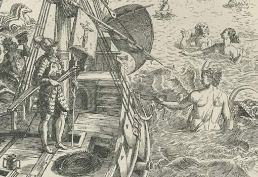 колумб русалки