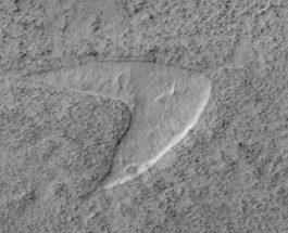 Марсианская песчаная дюна