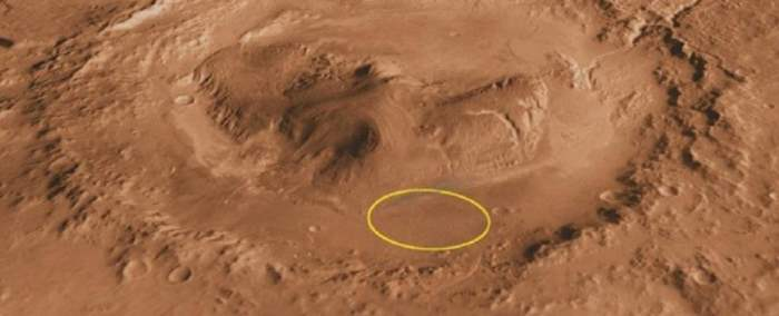 марс глина