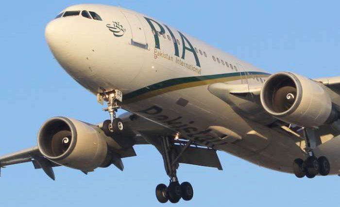 пакистанский самолет