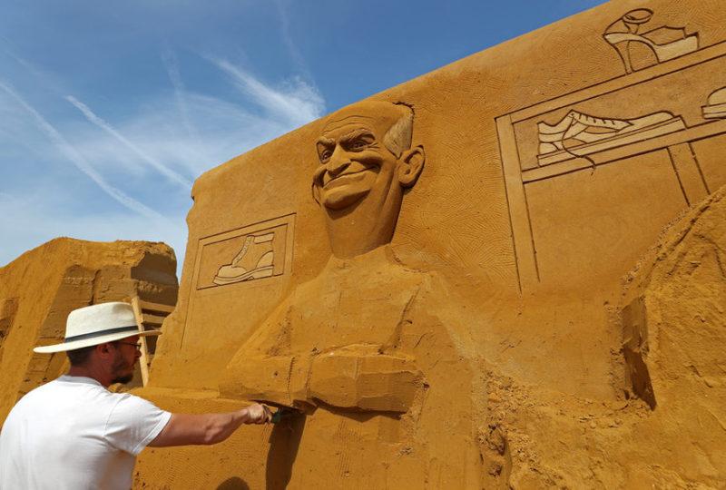 песчаных скульптур