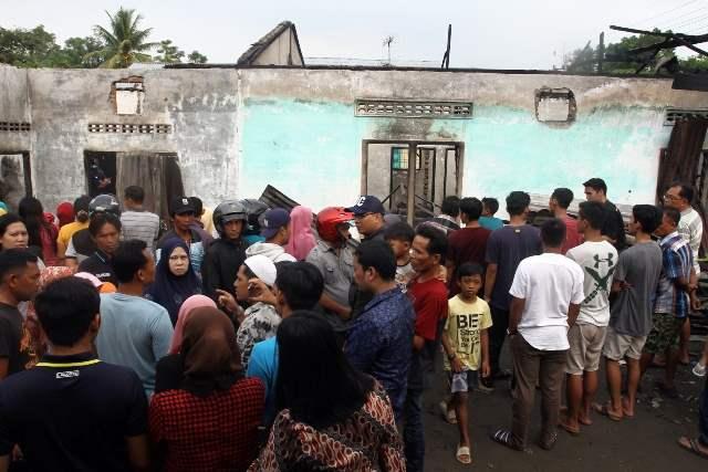 пожар индонезия
