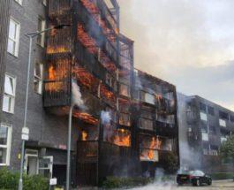 пожар лондон