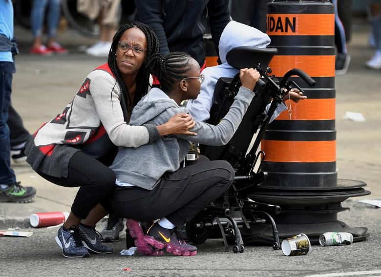 после сообщений о выстрелах